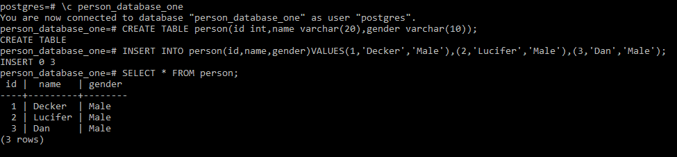 Postgresql create view from another database